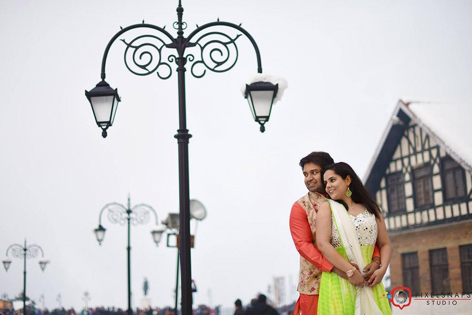 Rishab & Vani Pre Wedding